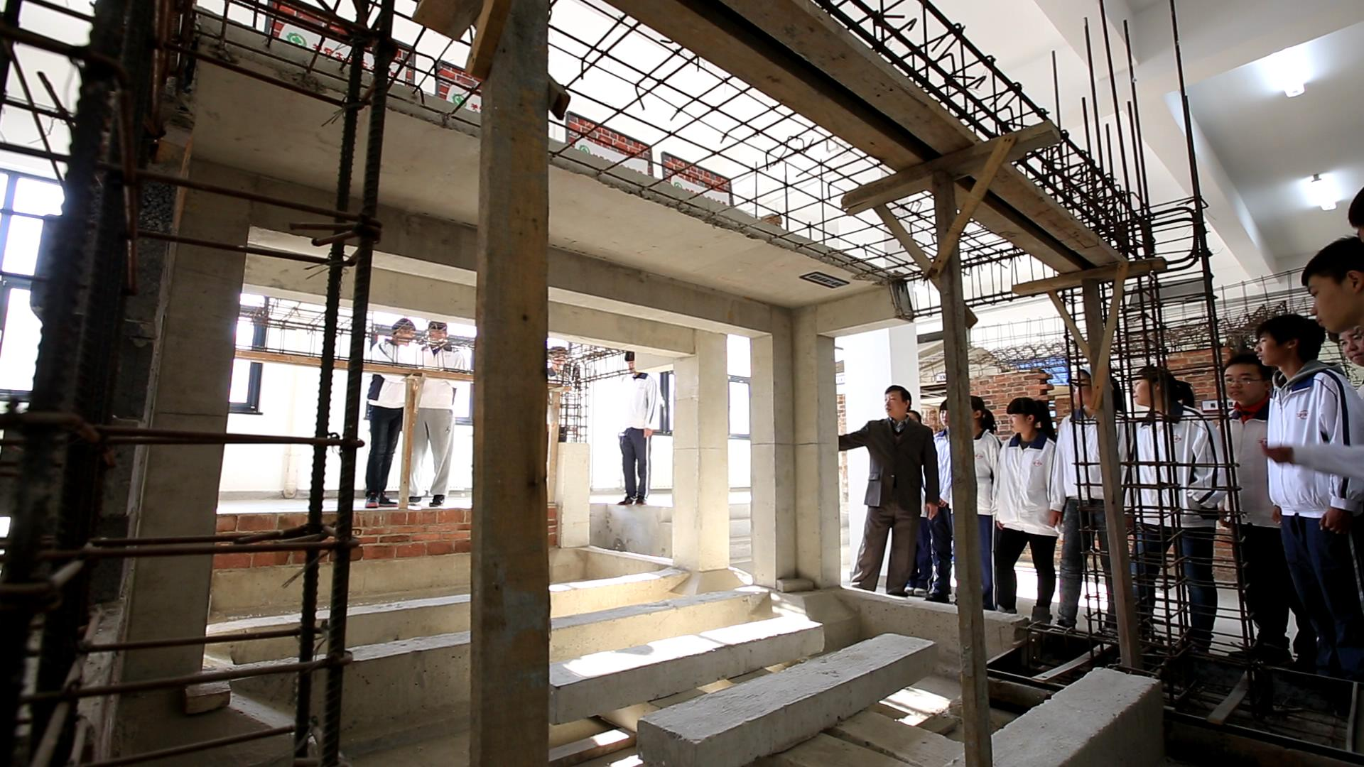 结构实训 - 天津市建筑工程学校